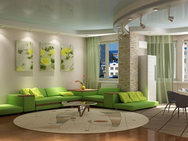 Секретами планировки и дизайна своей гостиной.  Новости.  Что же.